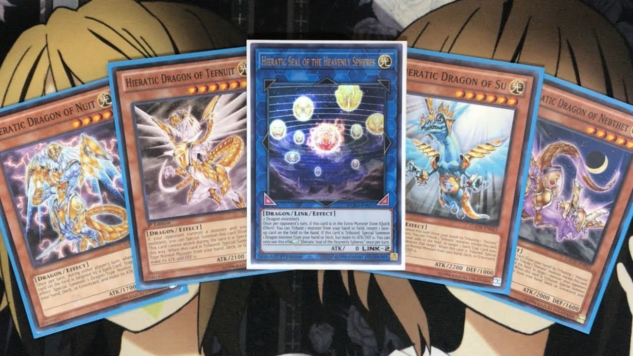 My Hieratic Yugioh Deck Profile for April 2019