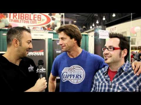 Charlie O'Connell from Sliders, Huff @ Comic Con 2012 Exclusive