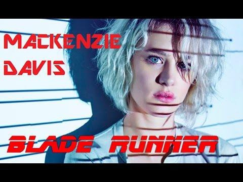Mackenzie Davis close up. BLADE RUNNER actress 2017
