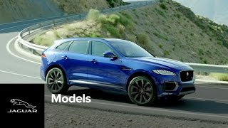 The All-New F-PACE | Jaguar's First Performance SUV