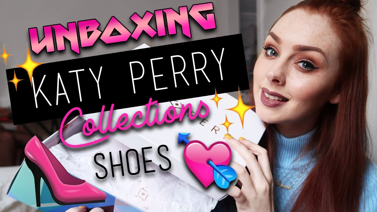 602cfd61d411 KATY PERRY COLLECTIONS SHOES UNBOXING AND REVIEW - YouTube