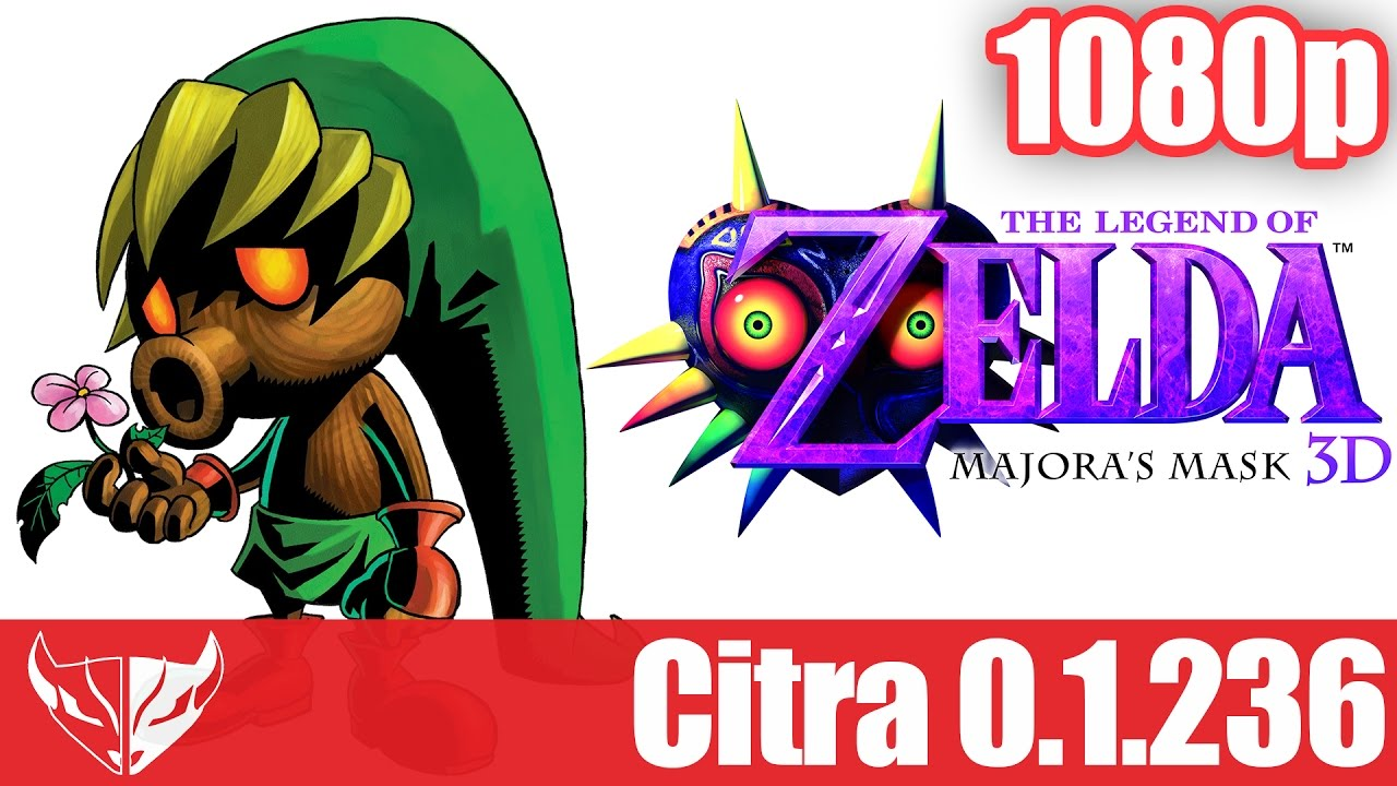 Citra - The Legend of Zelda Majora's Mask 3D [1080p - Fully Playable]