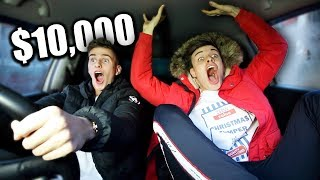 Last To Leave The Car Wins $10,000 - Challenge