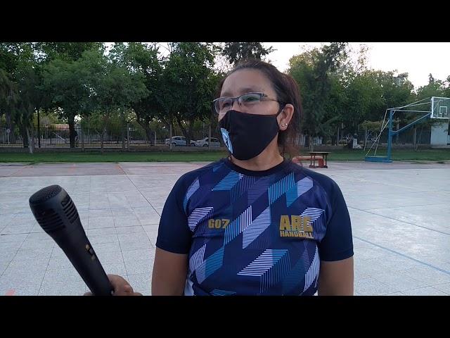 Anahí Balmaceda, DT de handball de Universidad Nacional de San Juan