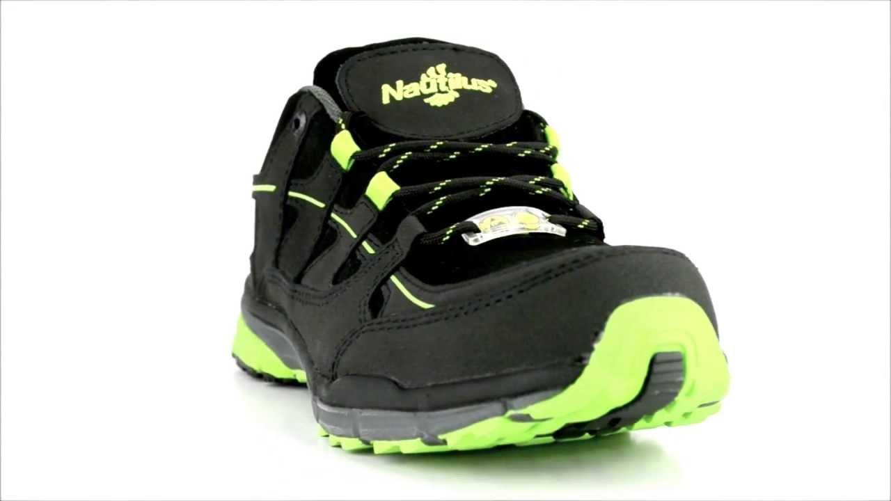feb18abb03d Men s Nautilus 1729 Steel Toe Work Shoe   Steel-Toe-Shoes.com - YouTube
