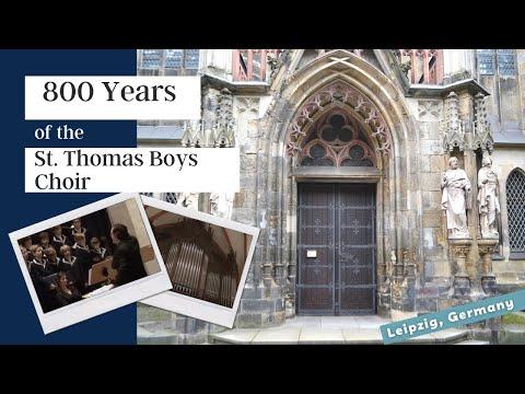 St Thomas Boys Choir Thomaner Leipzig, Germany
