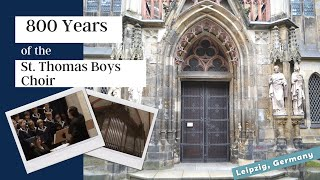 St. Thomas Boys Choir (Thomaner) Leipzig, Germany