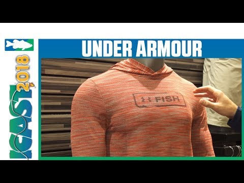 Under Armour Seamless Fish Hunter Hoodie & Crew  | iCast 2018