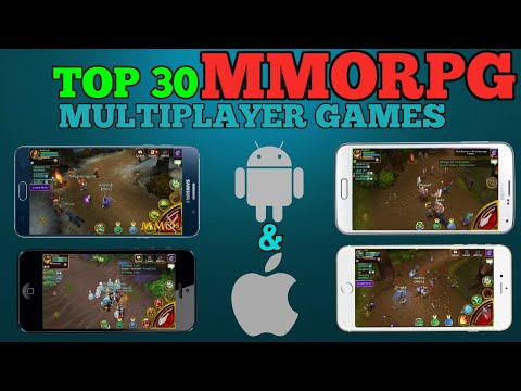 Top 30 MMORPG Games For Android/iOS (INTERNET CONNECTION) | 2016