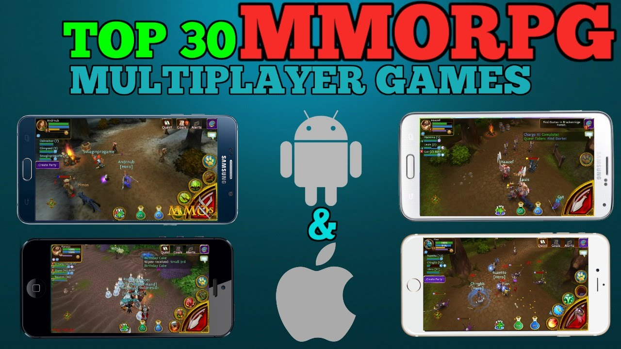 Top 30 MMORPG games for Android/iOS (INTERNET CONNECTION ...