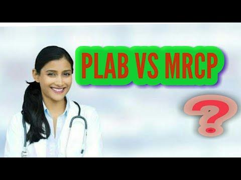 PLAB VS MRCP