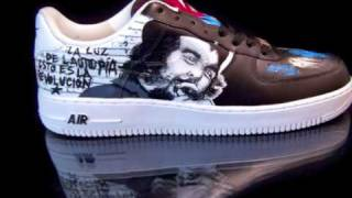 XCLSVWORLD X CUBAN REVOLUTION 50 YEARS ANIVERSARY X CUSTOM NIKE AIR FORCE 1