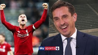 'I'VE GONE PAST CARING!' - Gary Neville in jest about the title race between Liverpool & Man City
