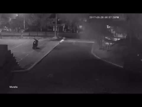 Nuevo atentado contra la Policía en Caucasia quedó registrado en video
