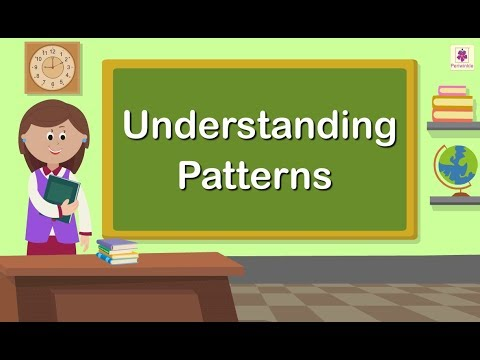 Understanding Patterns | Grade 1 | Maths For Kids | Periwinkle
