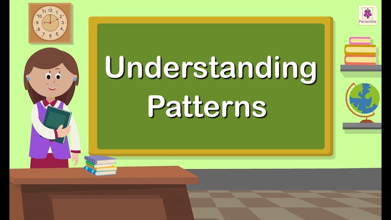 Understanding Patterns   Grade 1   Maths For Kids   Periwinkle - YouTube [ 720 x 1280 Pixel ]