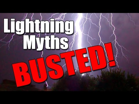 Lightning Myths BUSTED!