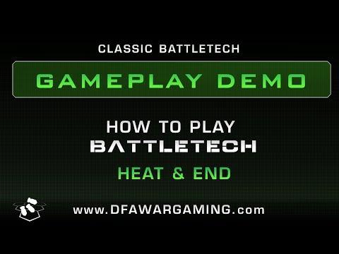 BattleTech: Game Play Demo - Heat & End |
