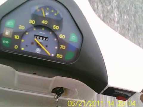 Accelerazione Vespa 50 HP 132 Malossi 0-80+++ kmh.wmv