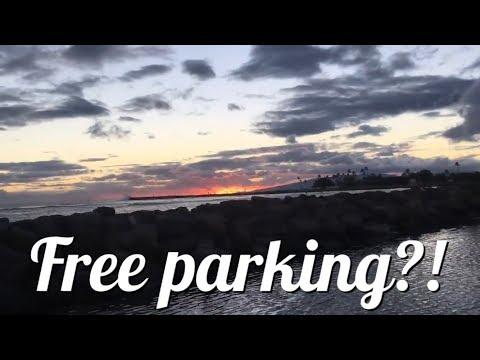 Free parking in Waikiki!?