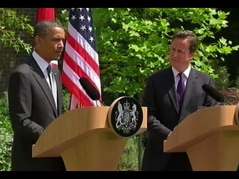 President Obama & Prime Minister Cameron Joint Press Availability