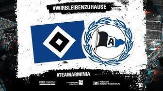 #WirBleibenZuhause   HSV esports - Arminia eSports   FIFA 20