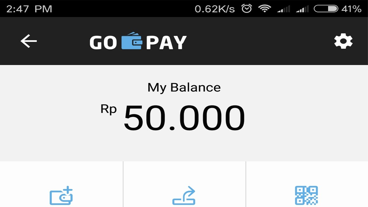 Voucher Go Pay Gratis 50000 Rupiah Dari Go Jek Youtube