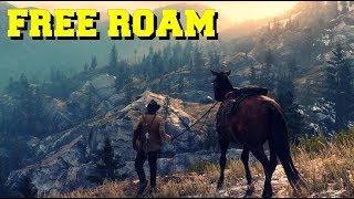 RED DEAD REDEMPTION 2! - Free Roam Gameplay Ps4 Pro (No Commentary)