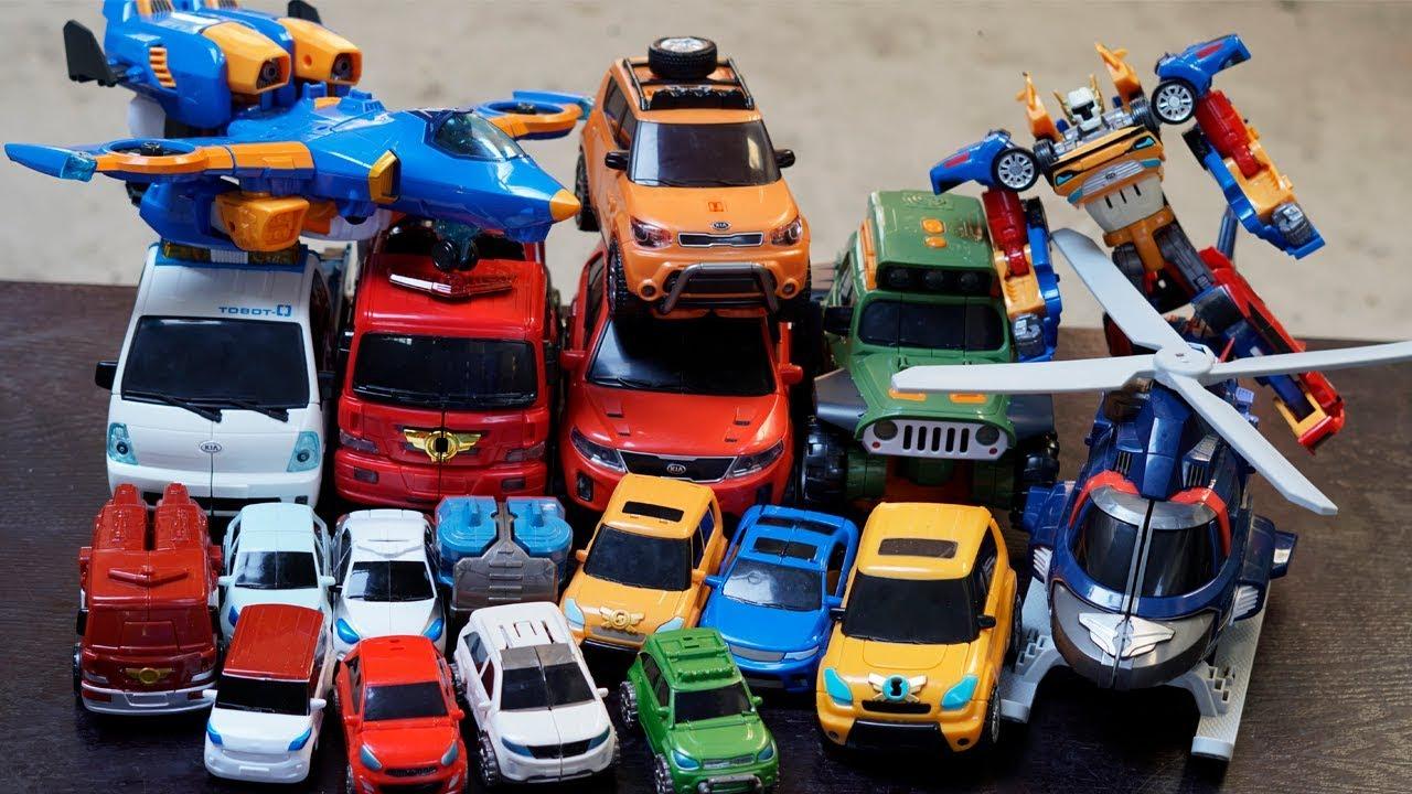 Tobot Robot Truck Car Aventure, Tractor, Tritan Deltatron Collection Toys