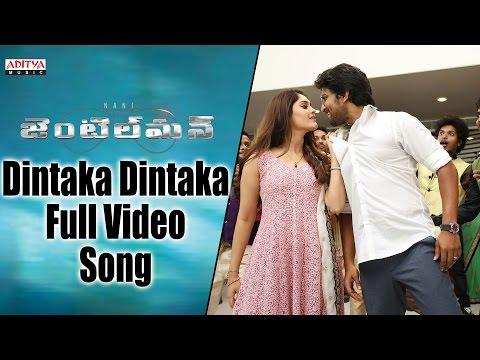 Dintaka Dintaka Full Video Song || Gentleman Video Songs || Nani, Surabhi, NivethaThamas, ManiSharma