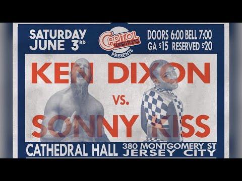 Ken Dixon vs Sonny Kiss - Capitol Wrestling