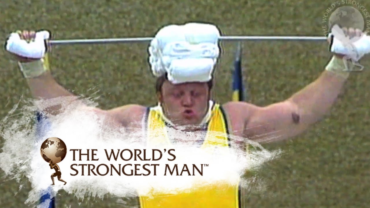 Bill Kazmaier Victories: 1980-81 | World's Strongest Man