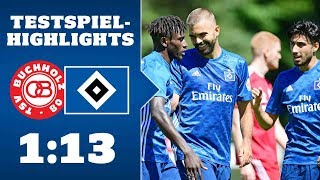 Highlights: TSV Buchholz 08 - HSV | SAISON 2019/20