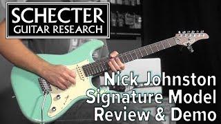Schecter Custom Shop Nick Johnston Signature Model Review & Demo at GuitCon 2017