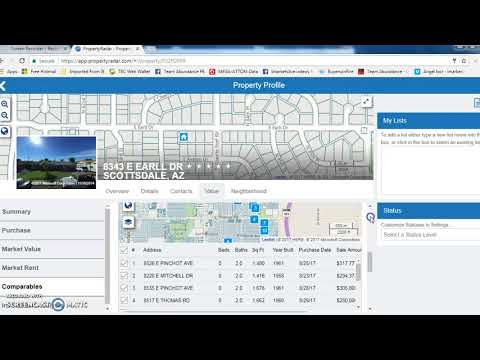 Recording #18- VA for equity in property radar