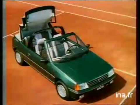 anuncio peugeot 205 roland garros youtube. Black Bedroom Furniture Sets. Home Design Ideas