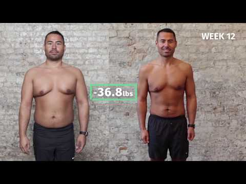 Benedikt's 12-Week Transformation with 8fit