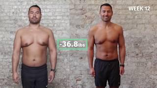Benedikt's 12-Week Transformation with 8fit