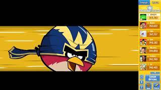 Angry Birds Friends Tournament 302-B Level 5 POWER UP Walkthrough