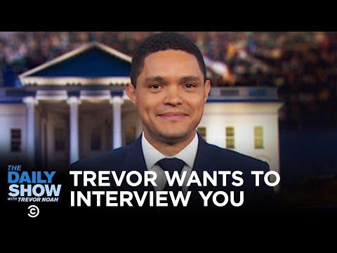 Trevor Noah Invites