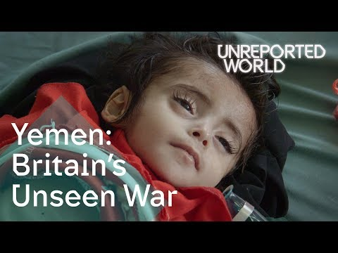 Yemen's civil war: children on the brink of starvation | Unreported World