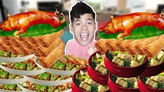 ULTIMATE FILIPINO FOOD CHALLENGE!
