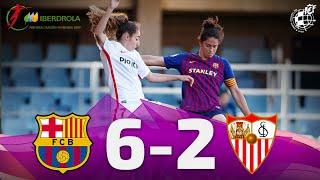 Download Video RESUMEN | FC Barcelona 6-2 Sevilla FC. 29ª jornada de la Liga Iberdrola MP3 3GP MP4