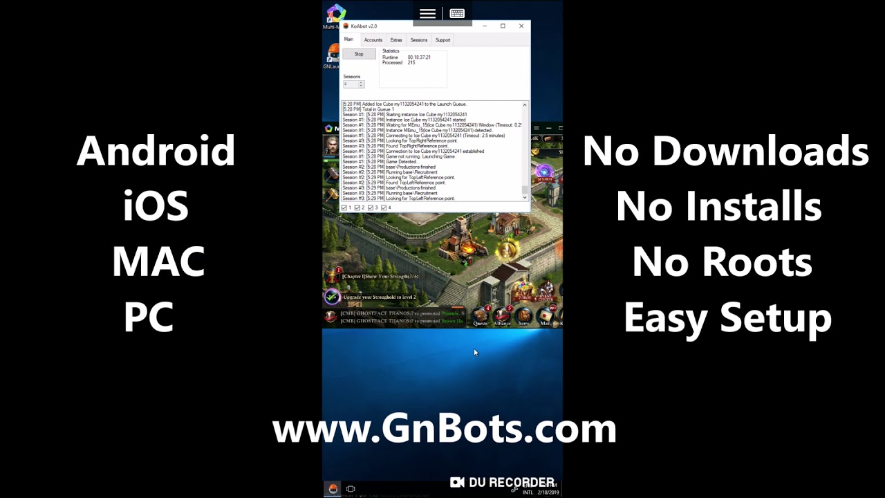 Game Bot for Android, iOS, MAC & PC | APK Bot