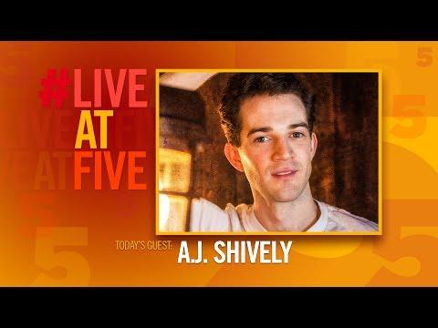 Broadway.com #LiveatFive with A.J. Shively