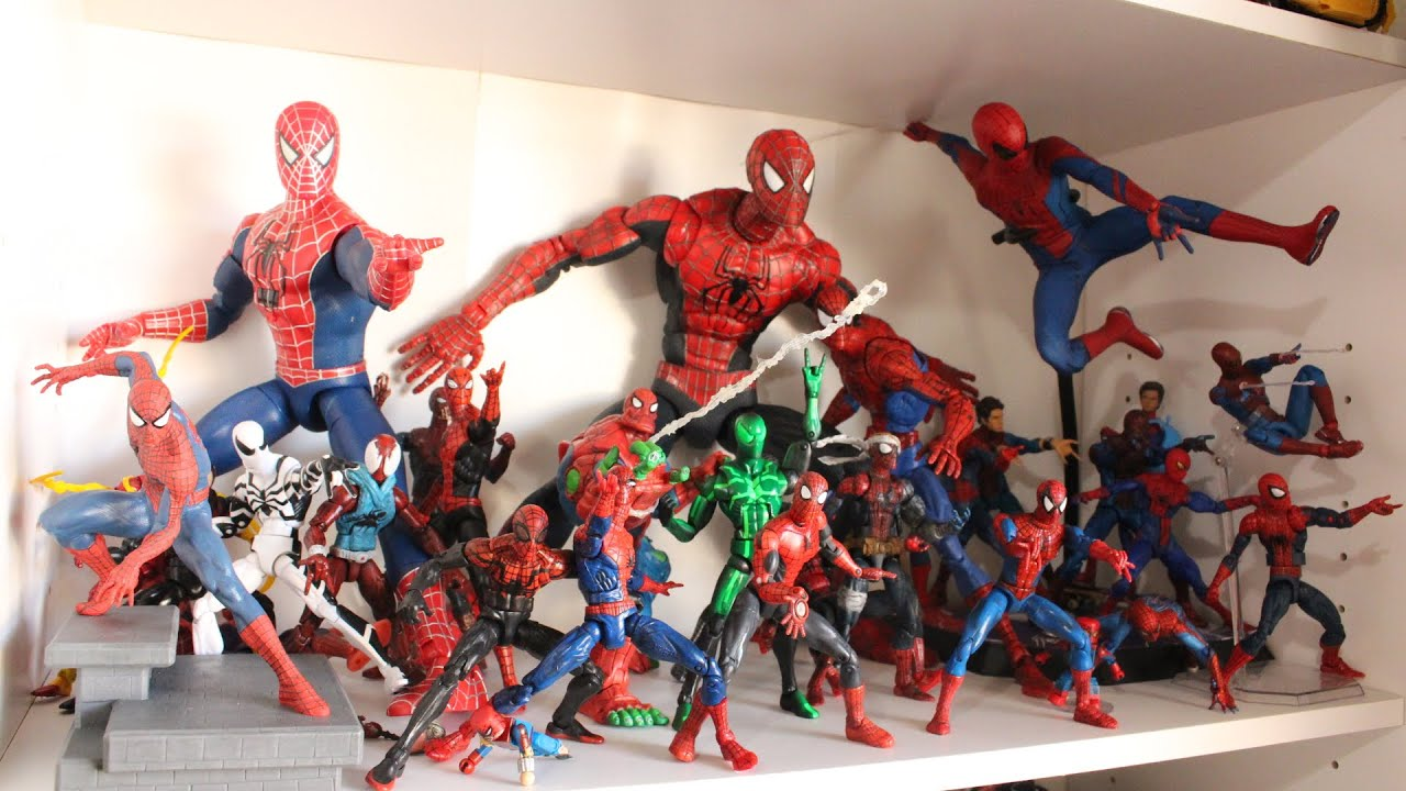 Kids Toys Action Figure: ShartimusPrime's Spider-Man Action Figure Collection Toy