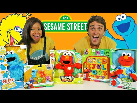 Sesame Street Toy Challenge  ! || Toy Review || Konas2002