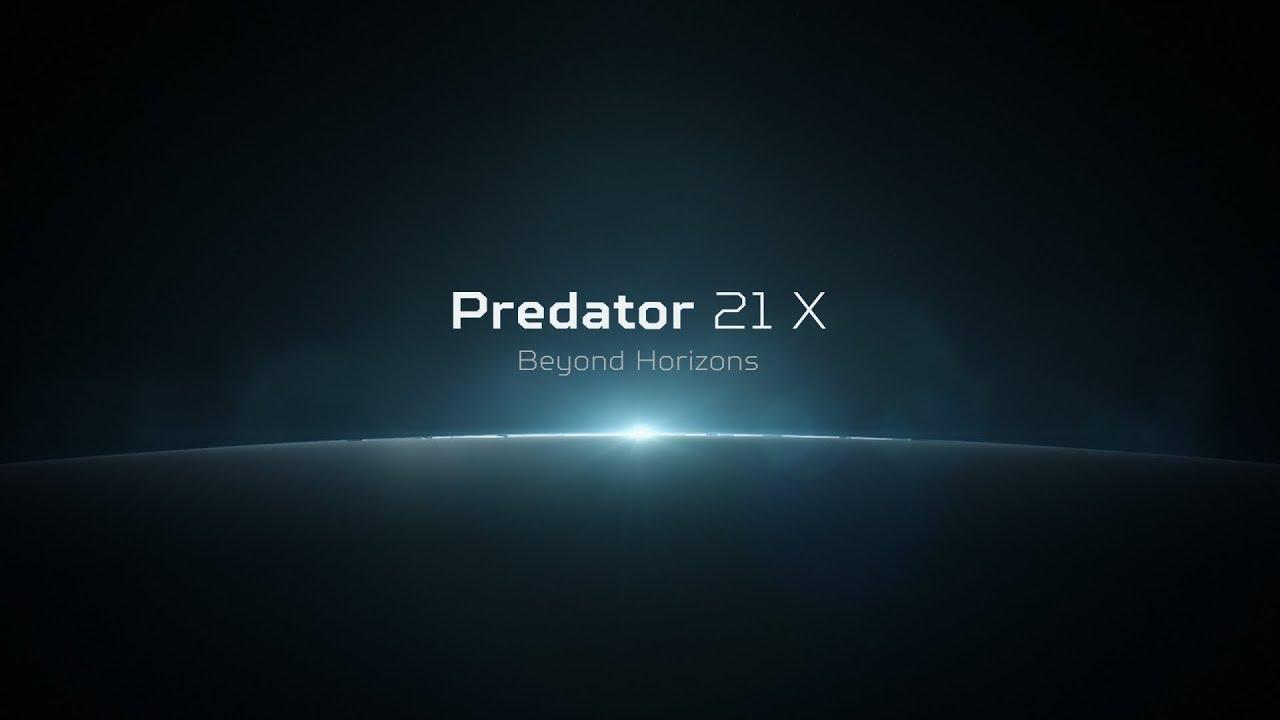 Acer Predator 21 X Gaming Laptop Beyond Horizons Youtube