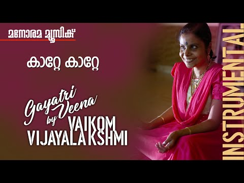 Katte Katte ni Film song on Gayathri Veena by Vaikom Vijayalakshmi