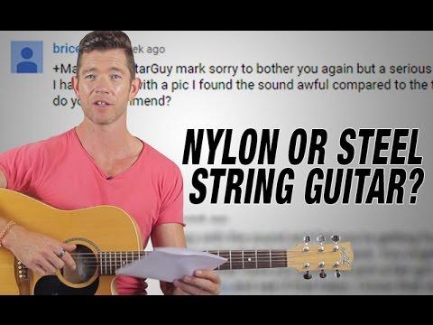 'Nylon or Steel String Guitar For Beginner?' - Q&A Friday